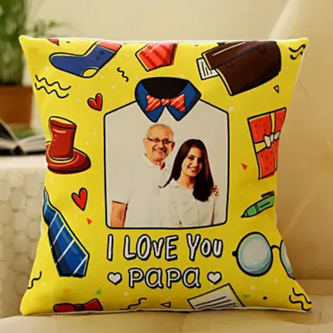 Love You Papa Cushion