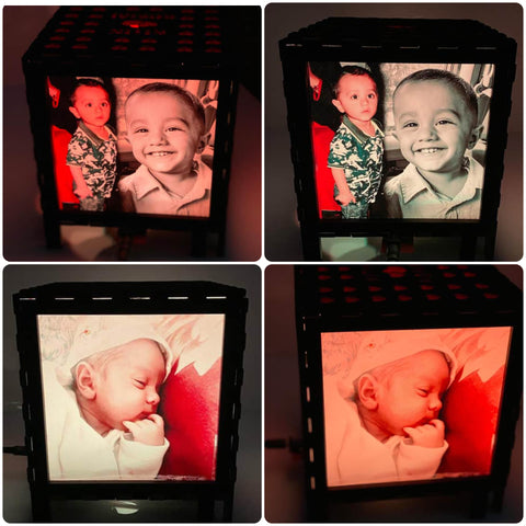 Wooden Engraved Photo LED Lamp ⭐️⭐️⭐️⭐️⭐️  CUSTOMER REVIEWS