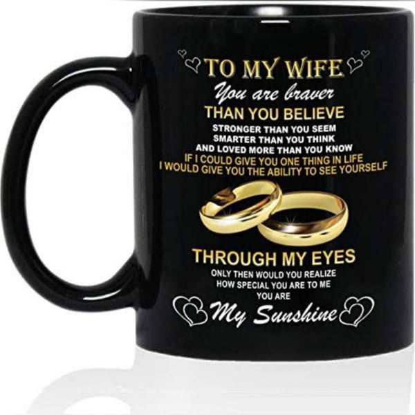 To My Wife Mug
