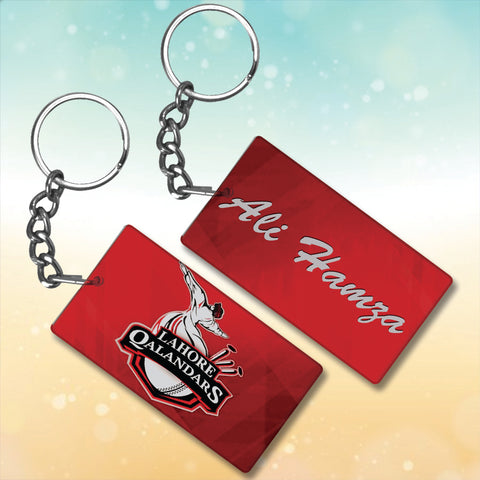 Lahore Qalander Metal key chain With Name