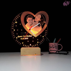 3D Personalized Romantic LED Lamp