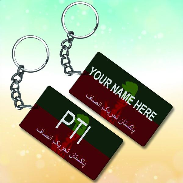 Metal Key-Chains PTI with Name
