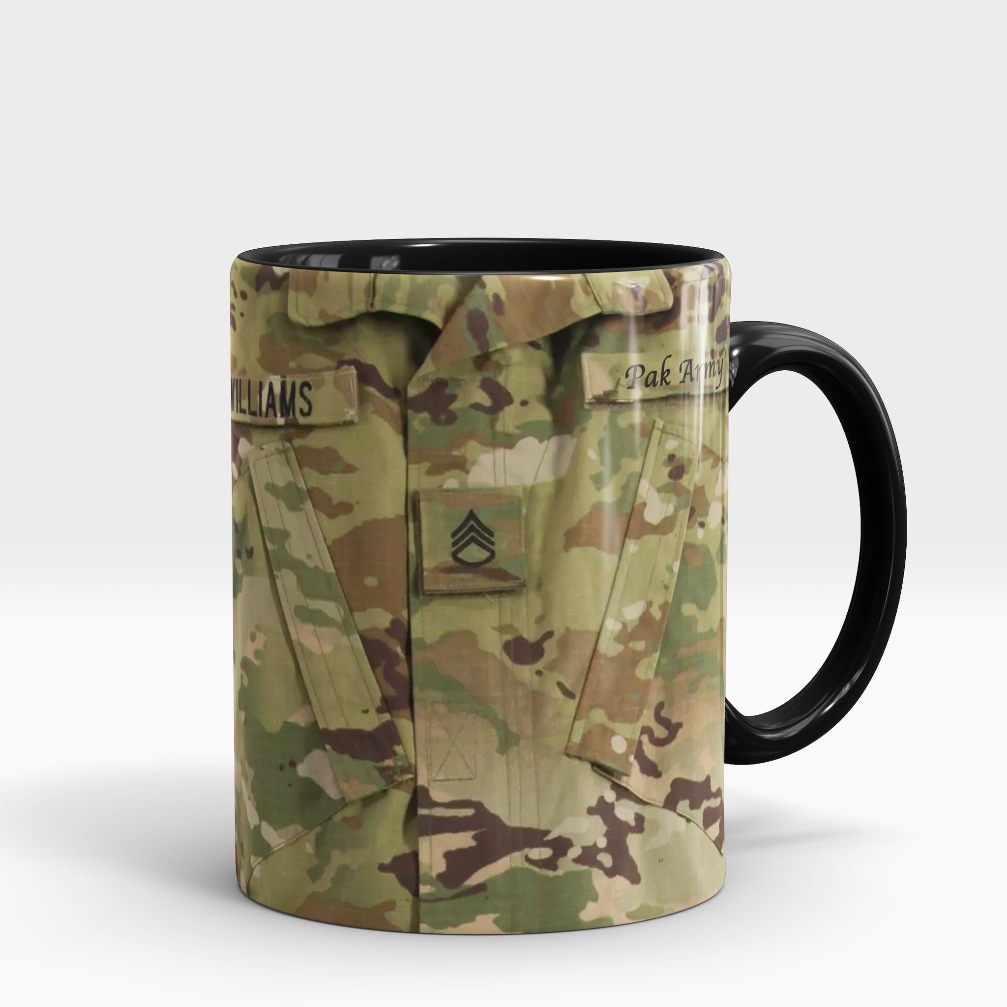 Army Custom Name Mug