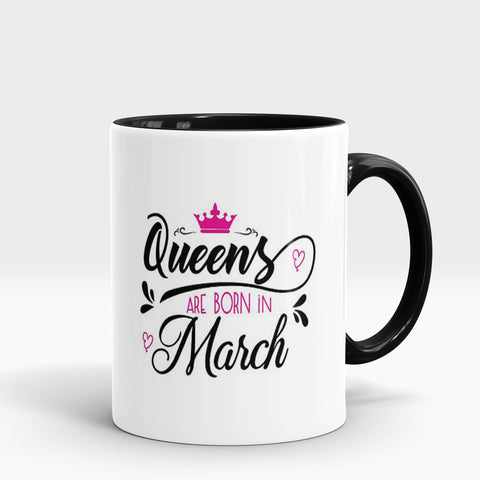Born in March Mug