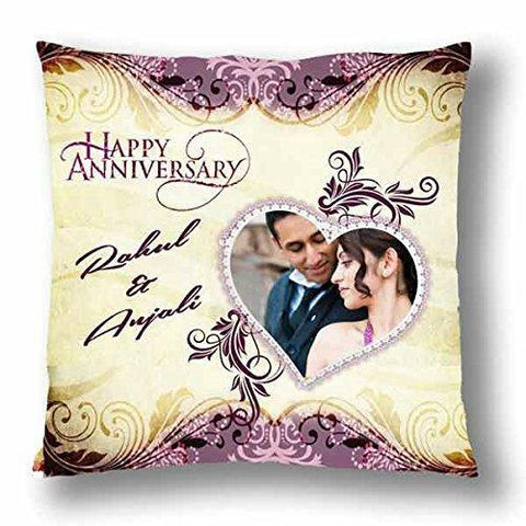 Customize Your Anniversary  Cushion