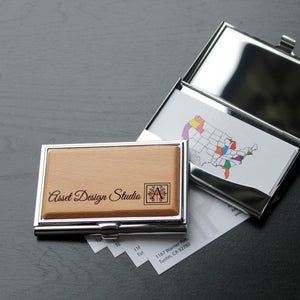 Executive Visiting Cards Holder with Engraved Name