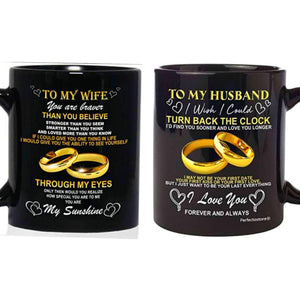 Wife Husband Couples Mugs