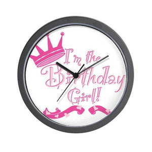 Birthday Wall Clock 02