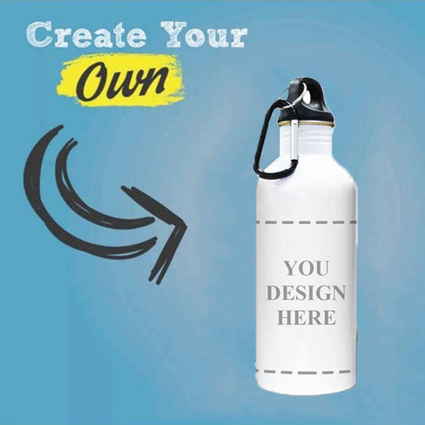Customizable Stainless Steel Water Bottle(Two Sides Printed)