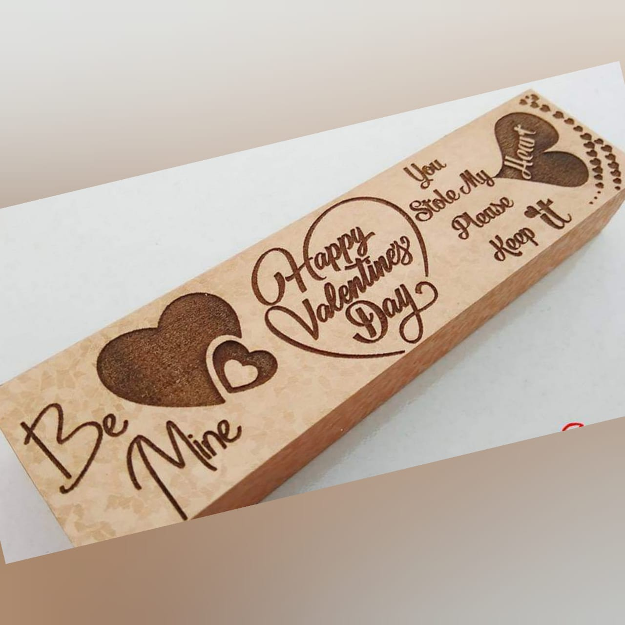 Wooden Engraved Name Box