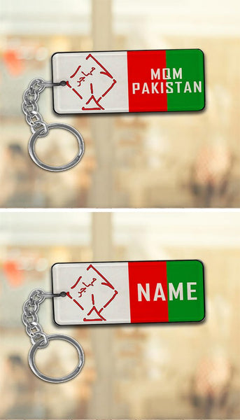Metal Key-Chains Politics with Name