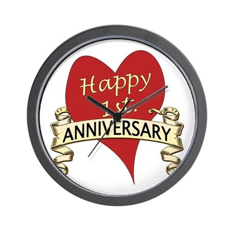Anniversary Wall Clock 01