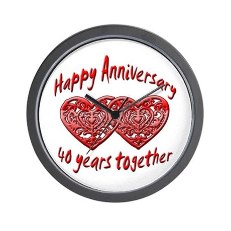 Anniversary Wall Clock 02