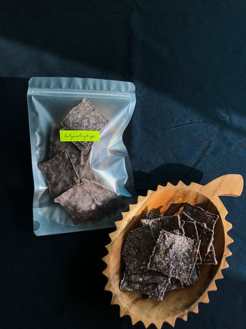 (NEW!) No Salt 5 Seeds Blue Corn Chips