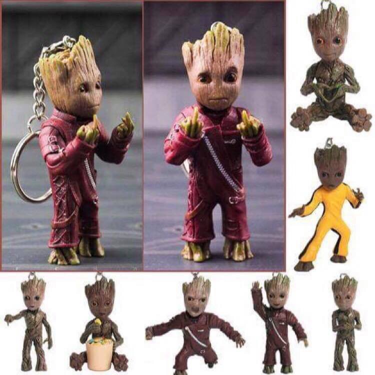 The Groot Keychain