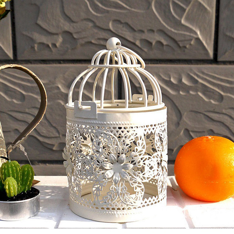 Metal Vintage Candle Holder