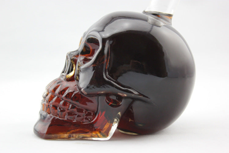 Skull Wine Bottle