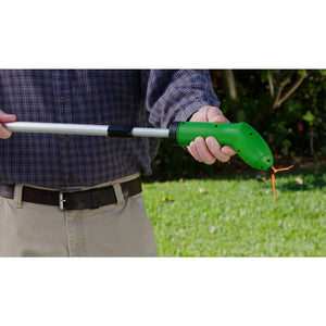 Portable Cordless Trimmer With Standard Zip Ties