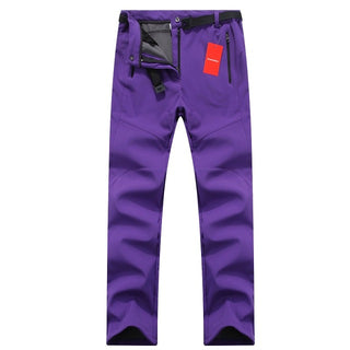 Thick Warm Fleece Skiing Trousers