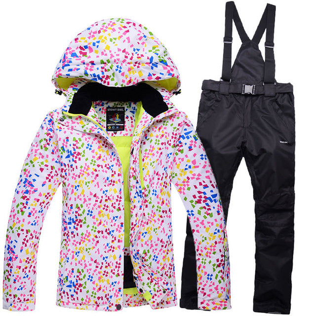 Outdoor Single Skiing Set