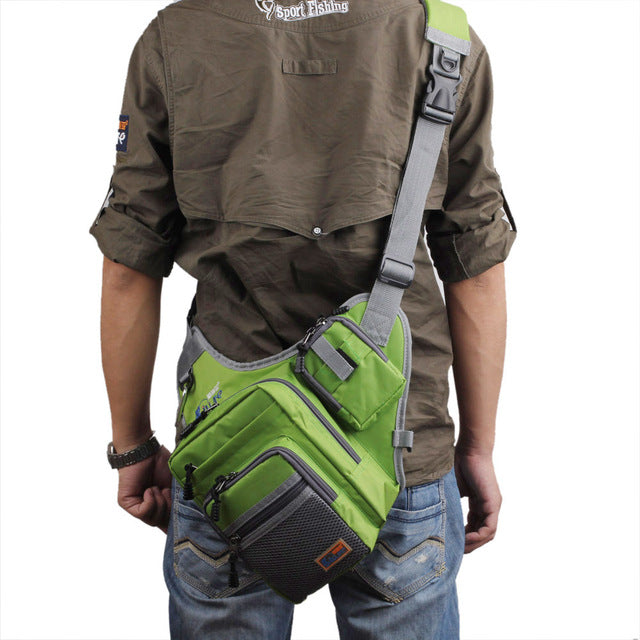 Waterproof Canvas Fishing Bag