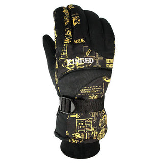 Warm Windproof Ski Gloves