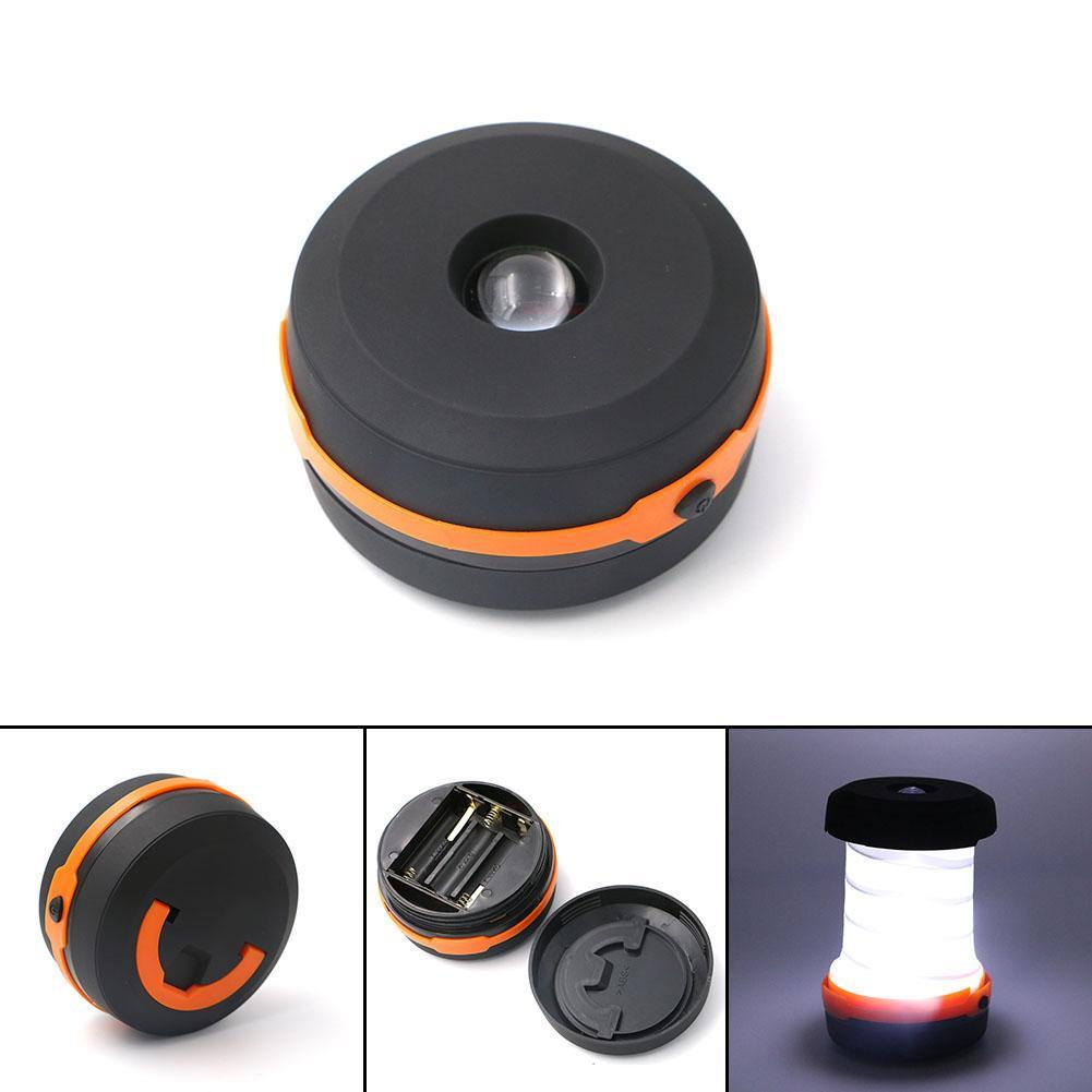 Collapsible LED Camping Lantern/Flashlight Combo