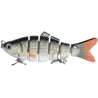 3D Eyes 6-Segment Lifelike Fishing Lure