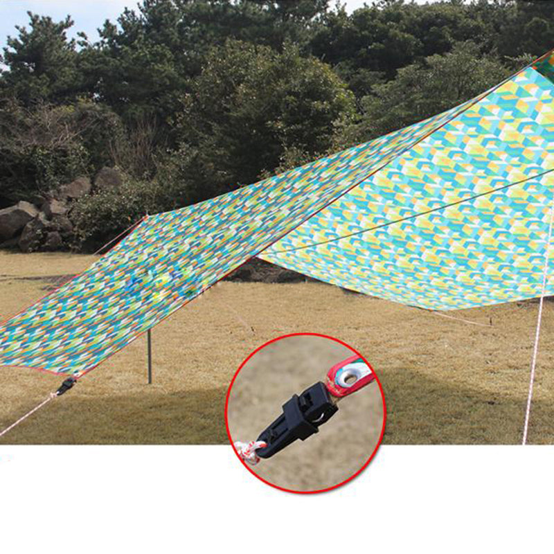 Outdoor Camping Plastic Clip Tents