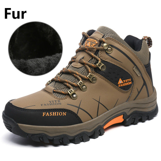 Leather Hunting Boots Autumn