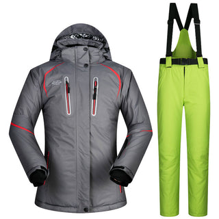 Thermal Jacket Skiing Snowboard Set