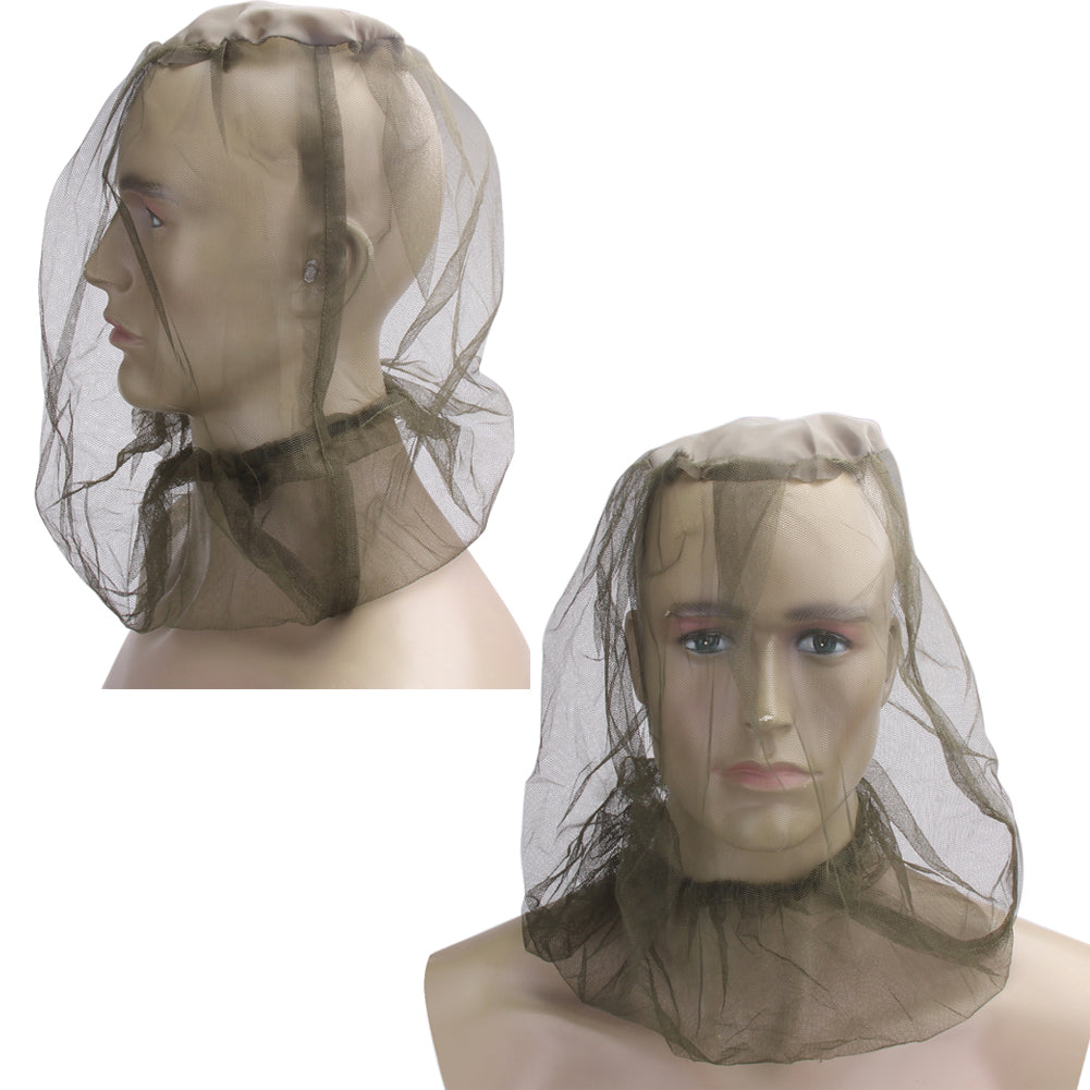 Mesh Head Net Face Protector