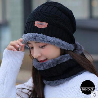 Neck Warmer Knit Ski Cap
