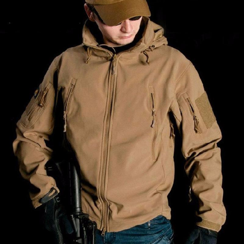 Soft Shell Tactical Hiking Jacket