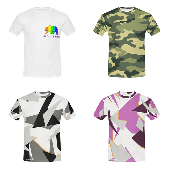 Collection de tee-shirt sur Sublimized