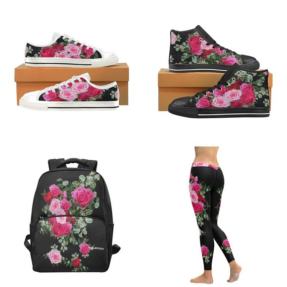 collection fleurs sur sublimized