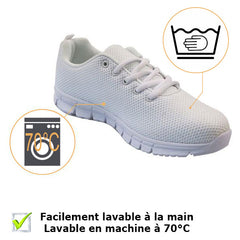 baskets infirmieres chaussures hopital sneakers facilement lavables
