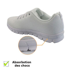 baskets infirmiere chaussure hopital sneakers bon amortis