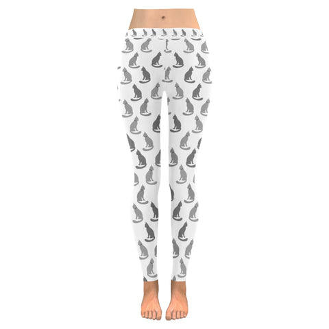 Leggings au design chats gris ( 3 modèles disponibles !!! ).