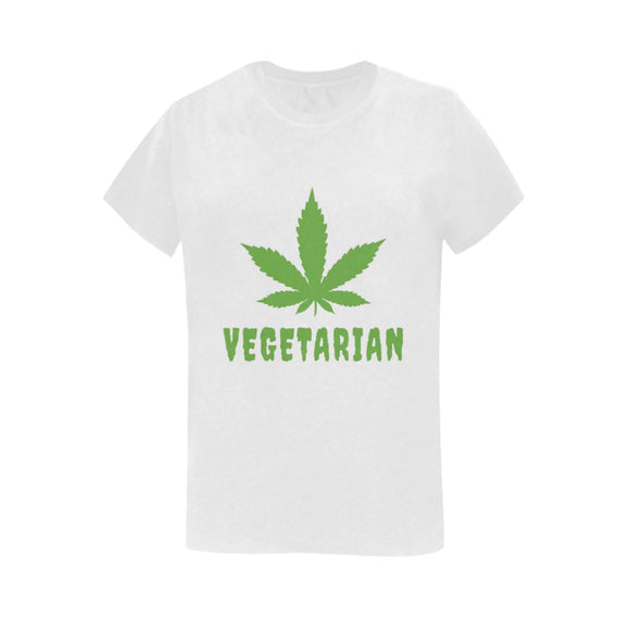 t shirt vegetarien face