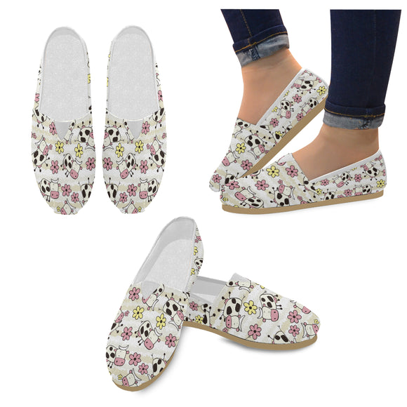 Espadrilles vaches Chaussons vaches Savates vaches