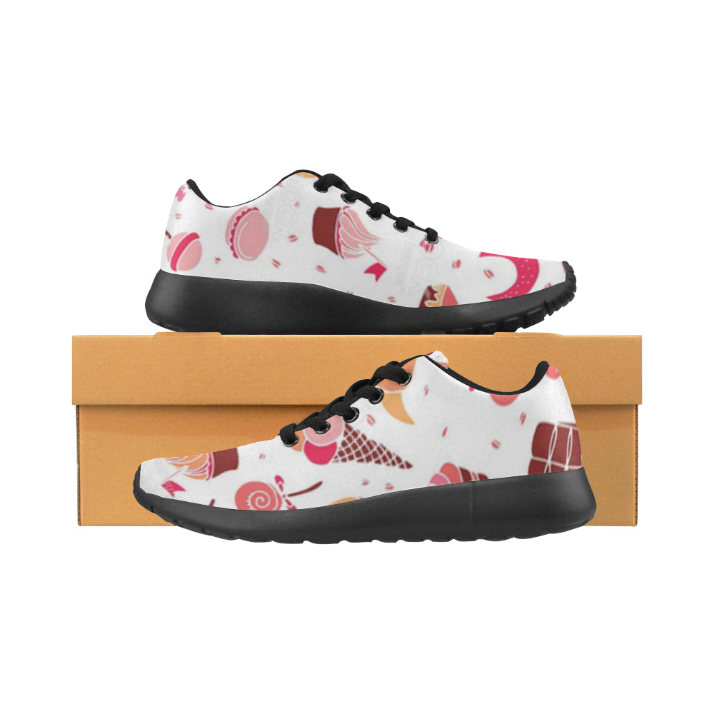 Sneakers au design sucreries boite