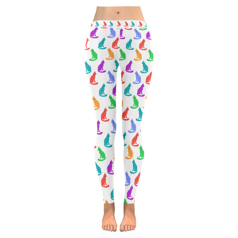 Leggings au design chats colorés ( 4 modèles disponibles !!! ).