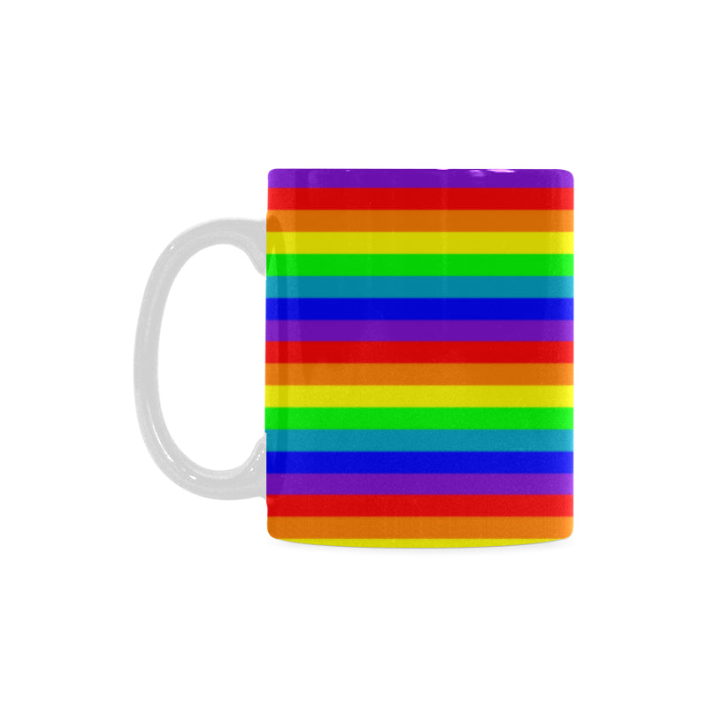 Mug arc en ciel LGBTQ friendly de gauche