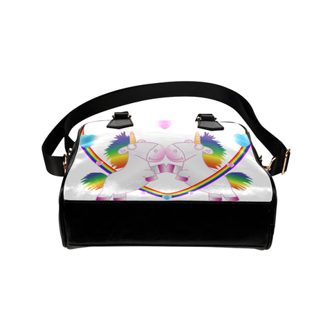 Sac à main en cuir Licorne, sac licorne, sac en cuir, sac à main lgbtq, sac à main en cuir gay friendly, lgbtq, gay friendly, sac tendance, licorne, arc en ciel, sac arc en ciel, sac à main arc en ciel, licorne dab, sac à main licorne dab