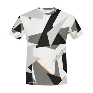 tee-shirt homme camouflage alpin design unique