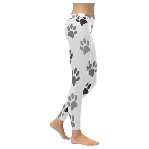 Legging au design pattes de chat.