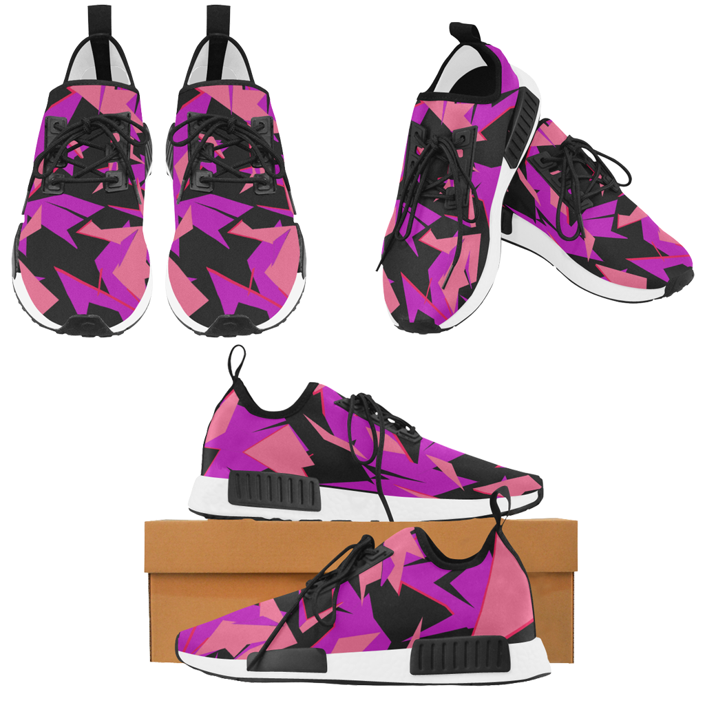 Sneakers disruptive style - purple