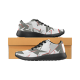 Sneakers camouflage baskets camouflage noir gris rouge