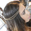 Classic Multilayer Chain Drop Rhinestone Tassels Headband Hair Accessories